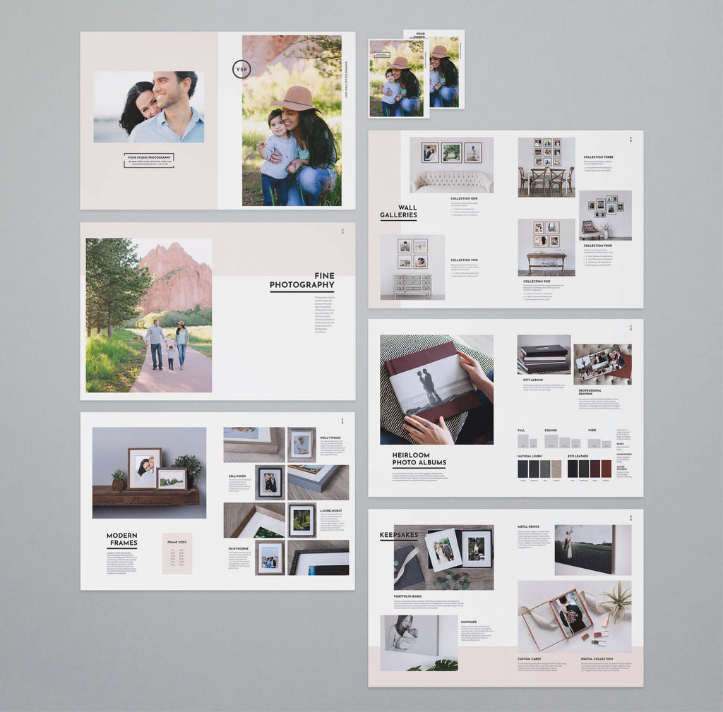 meta photography lookbook templates design aglow
