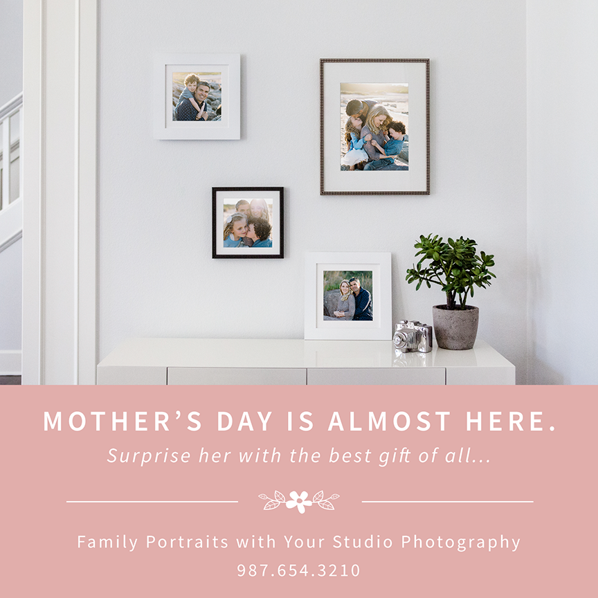 mother s day photography promo templates for pro photographers