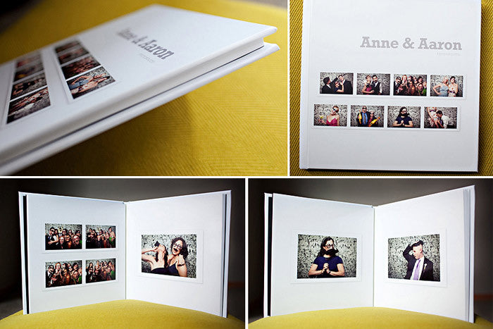 Photo Booth Album Template for Photographers Design Aglow – Template for Photo Album