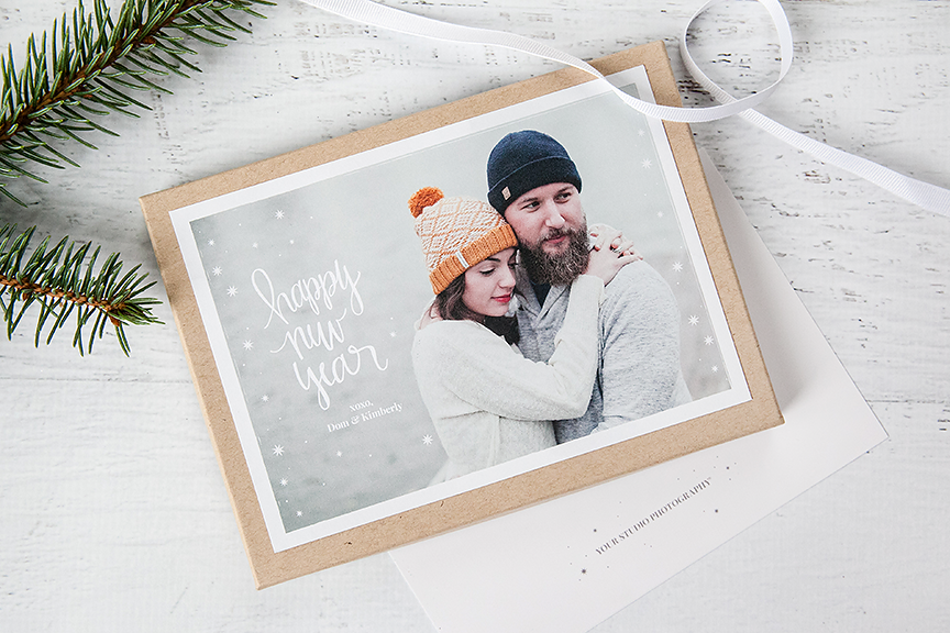 Hand Lettered Templates for Holiday