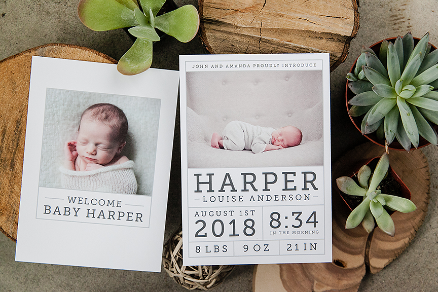 Photo Cards Calendars Tagged Birth Announcements Design Aglow – Photo Booth Baby Announcement
