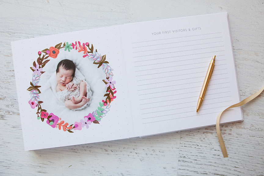 Baby Album Templates for Professional Photographers - Design Aglow
