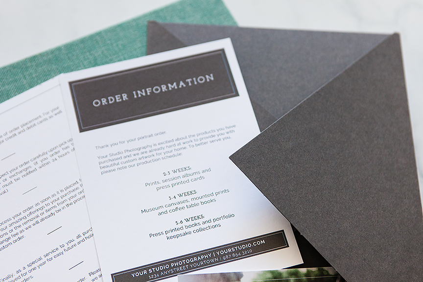 Client Care Card Templates For Photographers Design Aglow