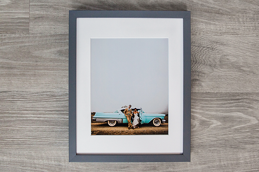 10x10 Frame With 8x8 Mat.8x8 Mat In 10x10 Eco Friendly Reclaimed ...