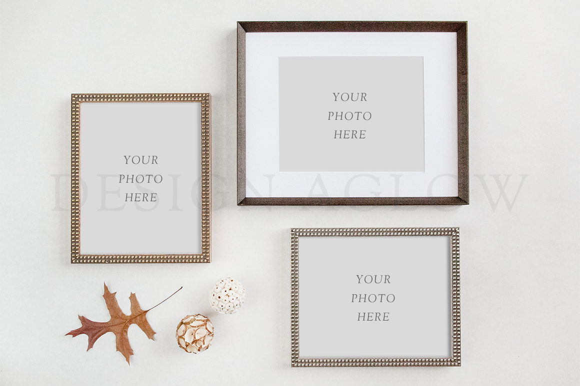 Multiple Frame Mockup Stock Photo Template for Pro Photographers ...