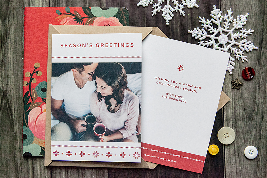 Festive Holiday Card Templates