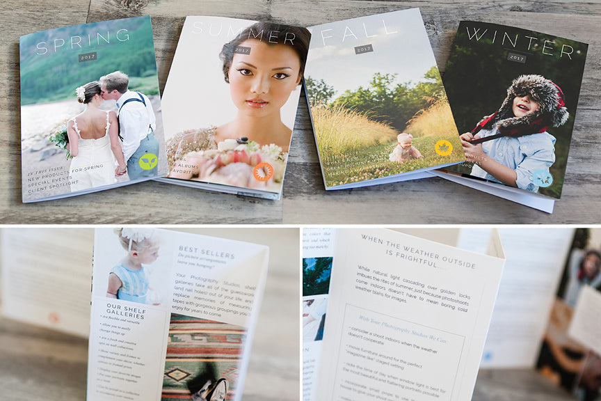 Marketing And Brochure Photoshop Template Sets For Professional