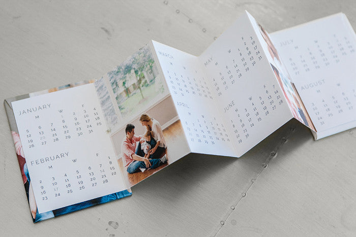 Minimalist Calendar 2015 : Custom designer calendar photoshop templates design aglow