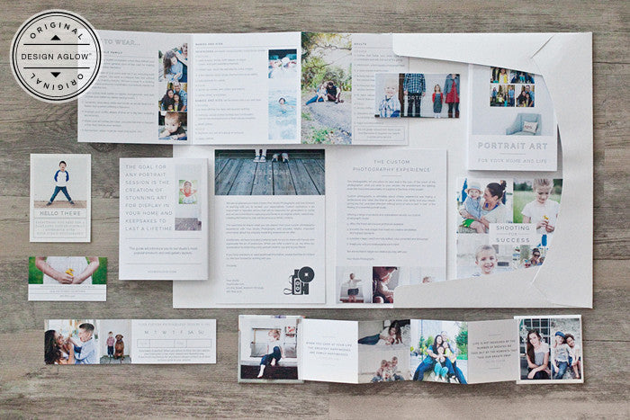 Marketing Photoshop and InDesign Template Sets for Professional ...