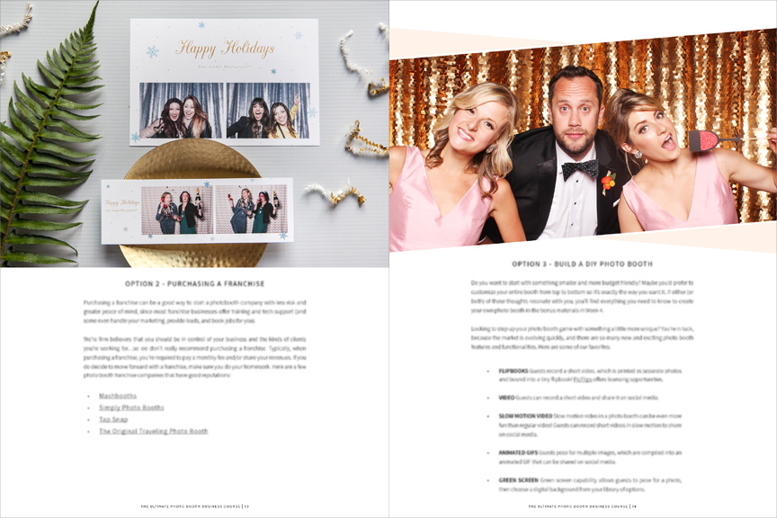 photo booth business plan sample