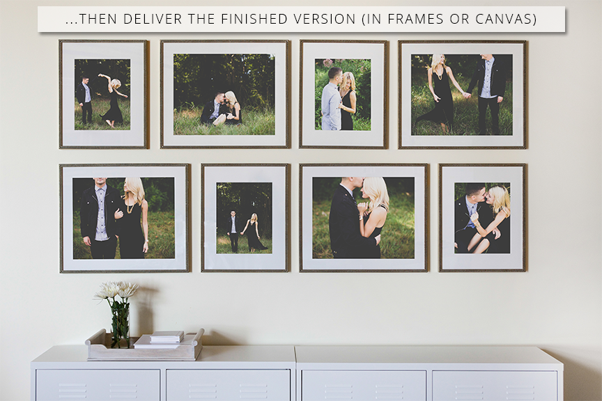 ProSelect Frame Layout Collections - Design Aglow