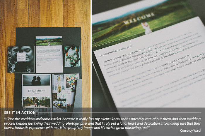 Wedding Photography Welcome Packet: Senior Welcome Packet