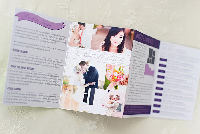 Marketing and Brochure Photoshop Template Sets for Professional – Studio Brochure