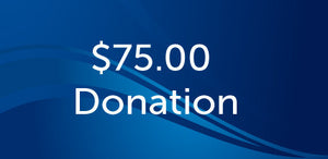 $75.00 Donation Muskegon Community