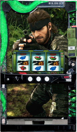 Metal Gear Solid Snake Eater-Slot Machine