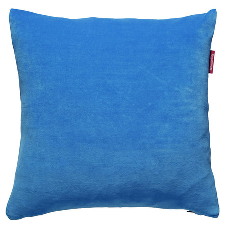 Farbenfreunde Nicky Velour Cushion with Insert, 40x40cm