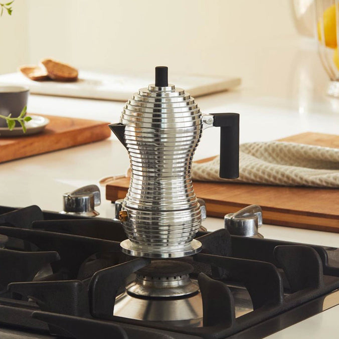 Alessi Pulcina Espresso Coffee Maker Medium