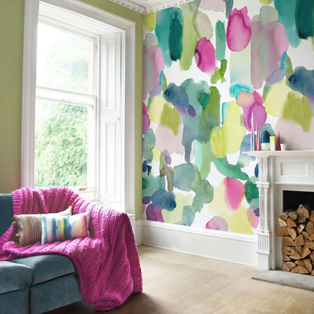 Bluebellgray Big Rothesay Extra Wide Wallpaper
