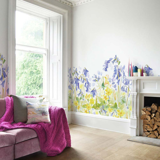 Bluebellgray Bluebell Woods Mural Wallpaper