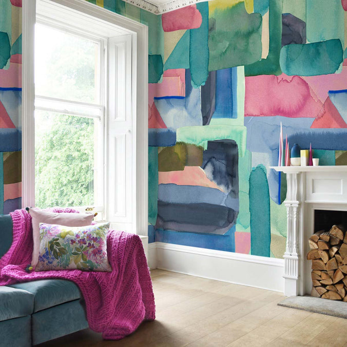 Bluebellgray Colourist Wallpaper