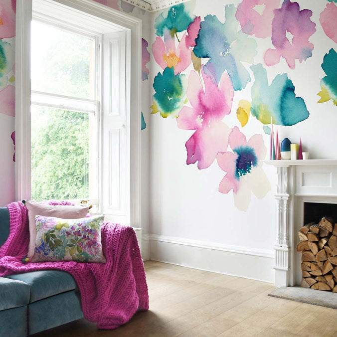 Bluebellgray Sanna Mural Wallpaper