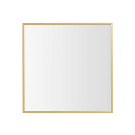 by Lassen View Wall Mirror 29.7x29.7cm, Brass