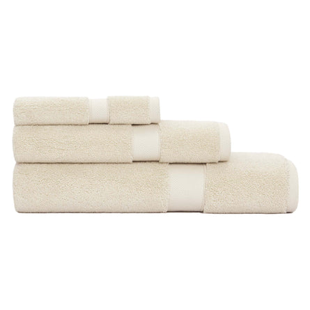 Calvin Klein Home Tracy Towels, Beige
