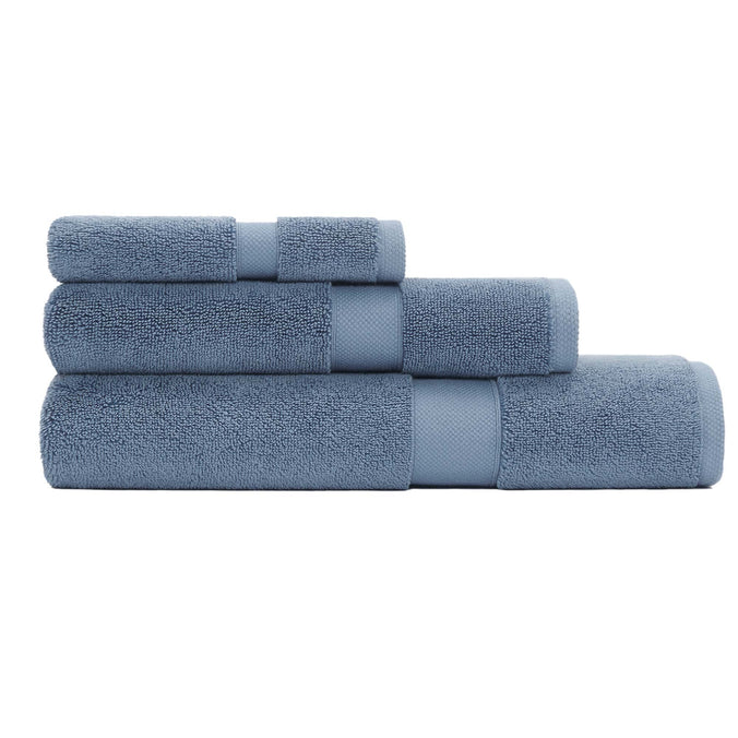 Calvin Klein Home Tracy Towels, Dusty Blue