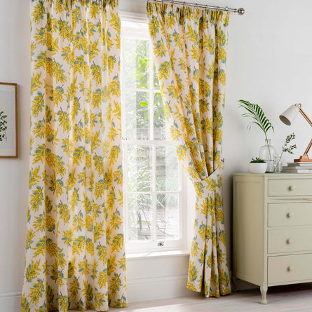 Cath Kidston Mimosa Flower Curtains