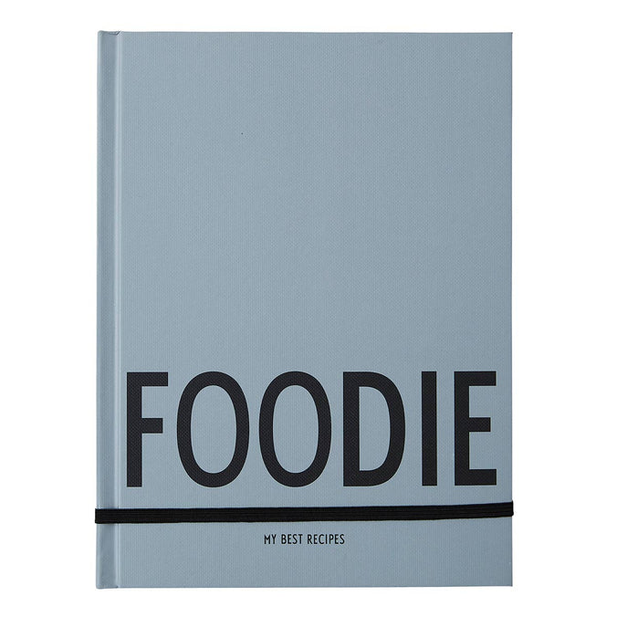 Design Letters Foodie My Best Recipes Notebook