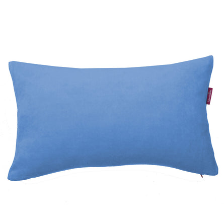 Farbenfreunde Nicky Velour Cushion with Insert, 40x60cm