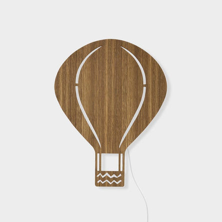 Ferm Living Air Balloon Lamp, Smoked Oak