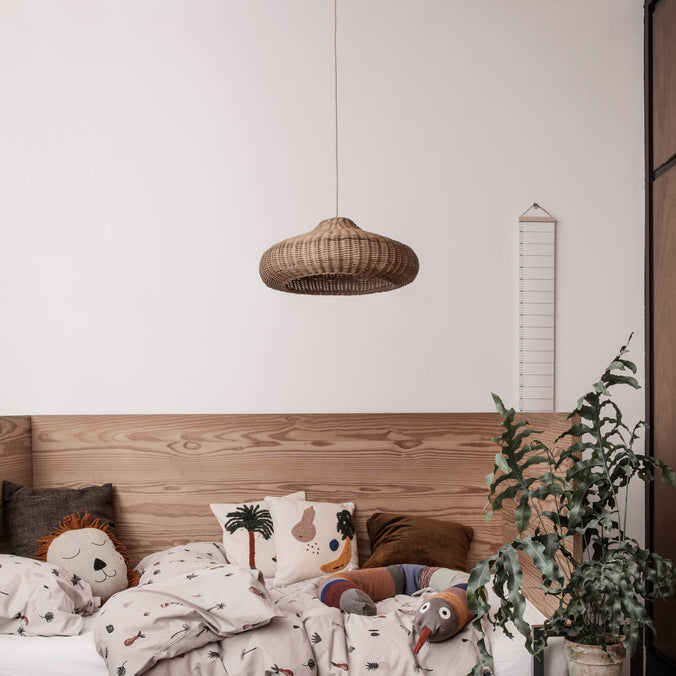 Ferm Living Braided Lampshade, Natural
