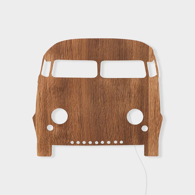 Ferm Living Car Lamp, Smoked Oak