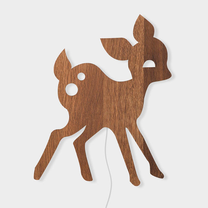 Ferm Living My Deer Lamp, Smoked Oak