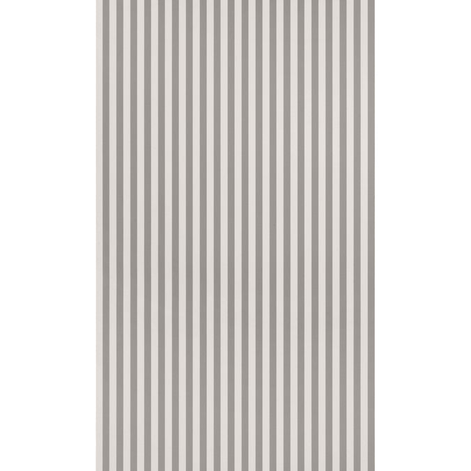 Ferm Living Thin Lines Wallpaper, Grey/Off White