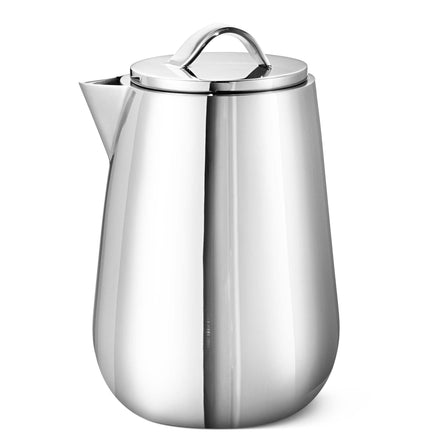 Georg Jensen Helix Milk Jug, Stainless Steel