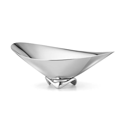 Georg Jensen Henning Koppel Wave Bowl, Small, Stainless Steel