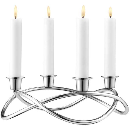 Georg Jensen Season Candleholder Tall, Mirror