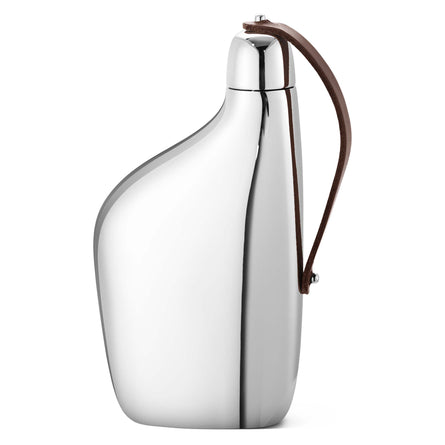 Georg Jensen Sky Hip Flask, Stainless Steel