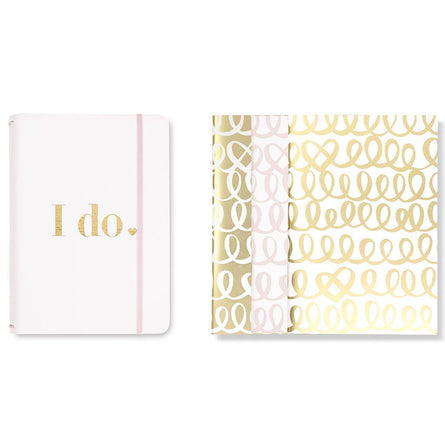 kate spade new york Bridal Triple Notebook Folio Set, I Do
