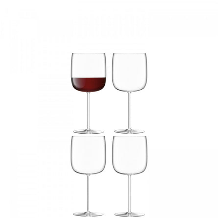 LSA Borough Grand Cru Glass 660ml, Set of 4