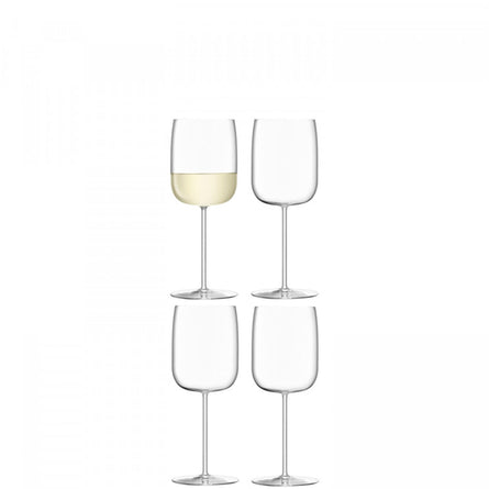 LSA Borough Wine Glass, Set of 4