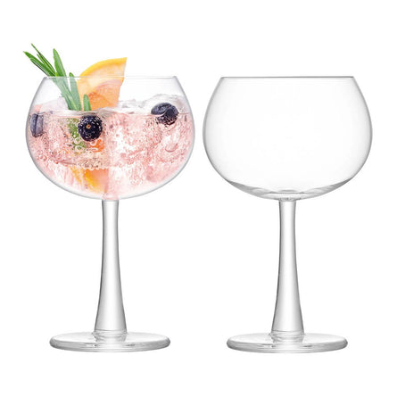 LSA Gin Balloon Glass 420ml Clear x 2