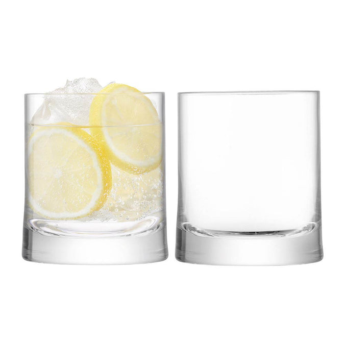 LSA Gin Tumbler, Set of 2 - 310ml, Clear