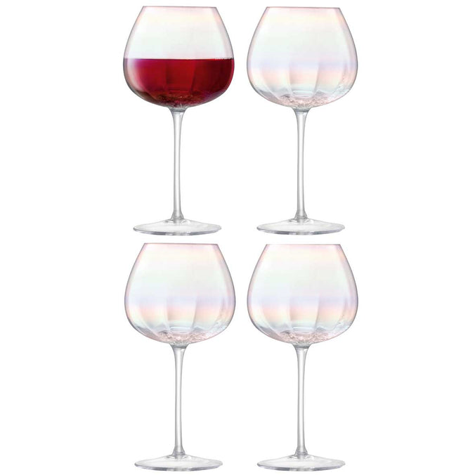 LSA Pearl Red Wine Glass 460ml, Set of 4