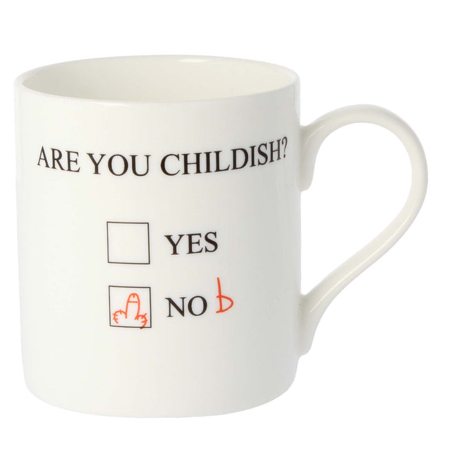 Mclaggan Smith Mugs Are You Childish?' Mug