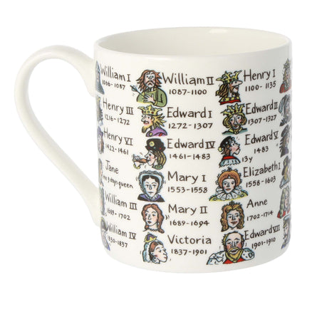 Mclaggan Smith Mugs Educational Kings & Queens Mug