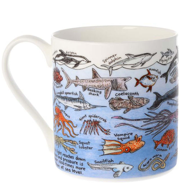 Mclaggan Smith Mugs Educational Ocean Life Mug