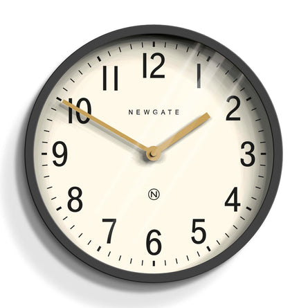 Newgate Clocks Master Edwards Wall Clock 30cm, Blizzard Grey